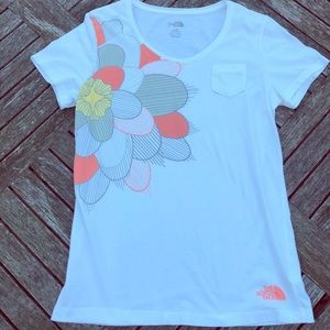 The North Face Short sleeve flower t-shirt